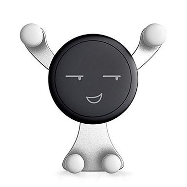voordelige Auto-interieur accessoires-360 roterende cartoon smiley face zwaartekracht auto mount air vent standhouder voor mobiele gps mobiele telefoon