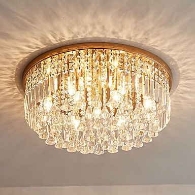 QIHengZhaoMing 6-אור תאורה להתקנה Ambient Light Brass מתכת 110-120V / 220-240V