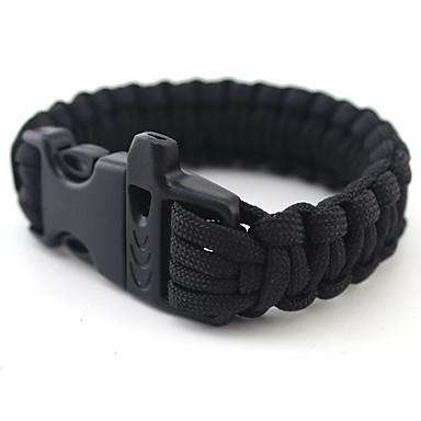 voordelige Dames Sieraden-Heren Dames Zwart Groen loom Bracelet Gevlochten U-Vorm Casual / Sporty Nylon Armband sieraden Zwart / Groen Voor Dagelijks