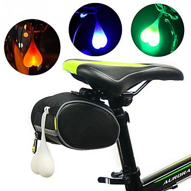 LED פנסי אופניים פנס אחורי לאופניים אורות בטיחות רכיבת הרים רכיבת אופניים עמיד במים נייד אזהרה 3000 lm RGB אדום כחול מחנאות / צעידות / טיולי מערות רכיבה על אופניים