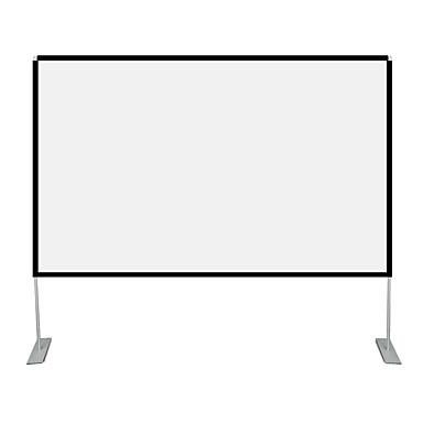 16:9 100 inch Najveća količina bijelog Platno na tronošcu