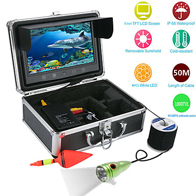 cheap Fish Finder-Fish Finder Fishing Tools 19.8*11.1 inch LCD 50 m Waterproof None Wireless 18650(no include) Other