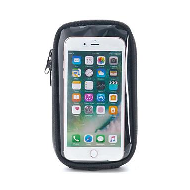 voordelige Auto-interieur accessoires-motorfiets mobiele telefoon tas waterdichte olie tanktas universeel zwart