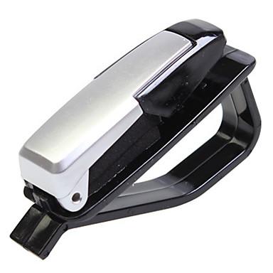 voordelige Auto-interieur accessoires-plastic auto zonneklep zonnebril kaart ticket houder clip mount oog bril opruimen clip