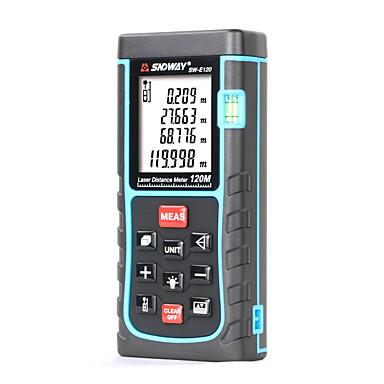 voordelige Test-, meet- & inspectieapparatuur-sndway laser afstandsmeter voor sw-e120 mini afstandsmeter digitale laser afstand meterdistance meetlint