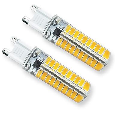 billige Elpærer-2pcs 3 W LED-lamper med G-sokkel 240 lm G9 T 80 LED perler SMD 5730 Dekorativ Smuk 220 V 110 V