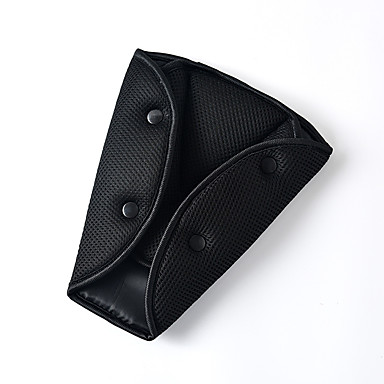 voordelige Auto-interieur accessoires-auto veilig te passen veiligheidsgordel stevige richter driehoek riem fixator voor bescherming van baby's