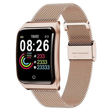 cheap Smartwatches-F9 Smart Watch BT IP68 Waterproof Fitness Tracker Support Notify & Heart Rate Monitor Compatible Apple/Samsung/Android Phones