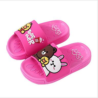 hesapli Kız Çocuk Ayakkabıları-Genç Erkek / Genç Kız PVC Terlik & Flip-flops Bebek (9 milyon 4ys) / Küçük Çocuklar (4-7ys) Rahat Fuşya / Mavi Yaz