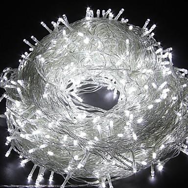 cheap Pre Sale-20m String Lights 200 LEDs Dip Led Warm White / White / Blue Party / Decorative / Lovely 220-240 V 1pc