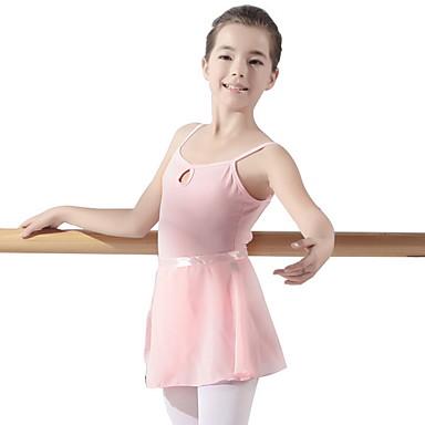 בגדי ריקוד לילדים / בלט בגדי גוף בנות הדרכה פוליאסטר מפרק מפוצל / סרבל תינוקותבגד גוף