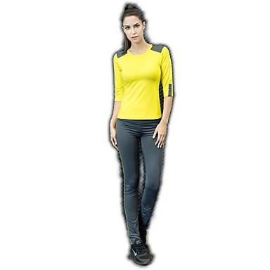 בגדי ריקוד נשים מכנסי יוגה אלסטיין טייץ רכיבה על אופניים תחתיות לבוש אקטיבי תומך זיעה באט הרם גמישות גבוהה