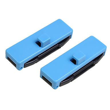 voordelige Auto-interieur accessoires-2 stks verstelbare veiligheidsgordel gesp cover beschermende anti-kras riemclips veiligheid stop riemclips
