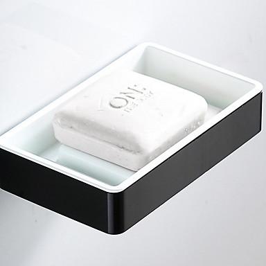 סבון כלים & מחזיקים יצירתי עכשווי אלומיניום 1pc מותקן על הקיר