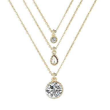 בגדי ריקוד נשים שרשרת Chrome זהב 56 cm שרשראות תכשיטים 1pc עבור פֶסטִיבָל