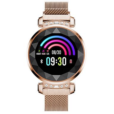baratos Relógios Senhora-Mulheres Relógio Esportivo Fashion Elegante Prata Dourada Roxa Aço Inoxidável Digital Prata Azul Céu Roxo Smart Controlo Remoto Digital