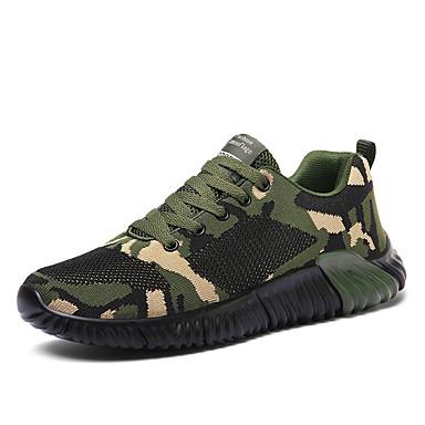בגדי ריקוד גברים נעלי נוחות Tissage וולנט אביב / סתיו ספורטיבי / יום יומי נעלי אתלטיקה ריצה נושם ירוק