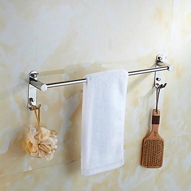 Havlu Çubuğu Yeni Dizayn Modern Paslanmaz Çelik 1pc - Banyo Tek Duvara Monte Edilmiş