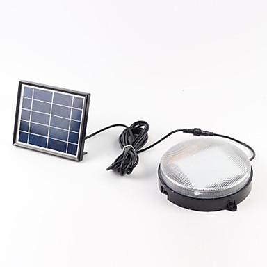 billige Utendørsbelysning-1pc 18 W Utendørs Vegglamper / Solar Wall Light Vanntett / Solar / Lysstyring Hvit 5.5 V Utendørsbelysning / Courtyard / Have 36 LED perler