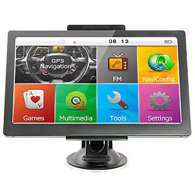 7 inç araba gps navigasyon 256/8 gb destek rusya / ab / güney amerika / asya / afrika / au nz haritalar