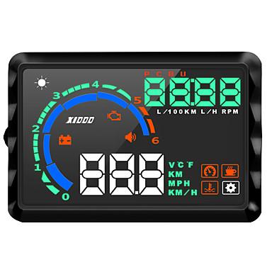 voordelige Automatisch Electronica-k9 lcd-display met kop omhoog multifunctioneel display voor auto hud rijsnelheid / weergave km / h mph