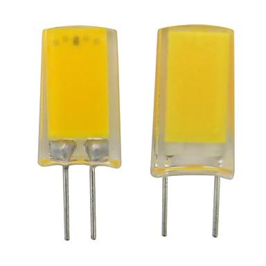 billige Elpærer-1 stk g4 g8 ledelys 110v 220v 2w 250lm cob led lampe hvit varm hvit for krystall lysekrone lys