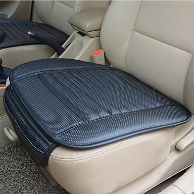 voordelige Auto-interieur accessoires-ademend pu lederen bamboe houtskool auto-interieur stoelhoes kussen pad voor auto benodigdheden bureaustoel