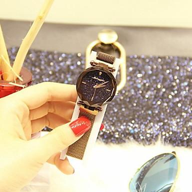povoljno satovi-Žene Sat uz haljinu Automatski Nehrđajući čelik New Design Analog Klasik - Crvena Kava Plava