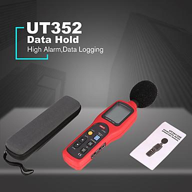 voordelige Test-, meet- & inspectieapparatuur-Digitale geluidsmeter 30130db noise monitor testers hoge alarm data log decibel meter noise tester