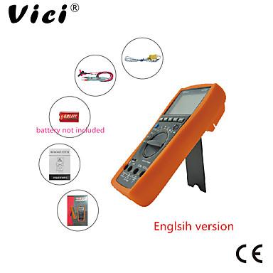 voordelige Test-, meet- & inspectieapparatuur-Vici vc99 3 6/7 auto-bereik digitale multimeter dc ac voltage stroom weerstand capaciteit meter tester ampèremeter voltmeter