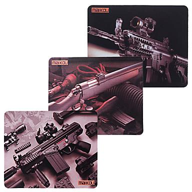 abordables Tapis de Souris-Tapis de souris modèle Maikou mitraillette modèle 180 * 220mm
