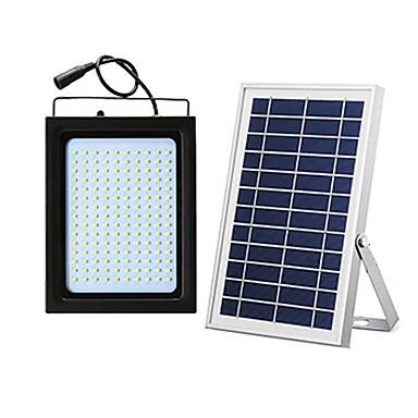 billige Utendørsbelysning-1pc 20 W LED-lyskastere / Utendørs Vegglamper / Solar Wall Light Vanntett / Solar / Lysstyring Hvit 5.5 V Utendørsbelysning / Svømmebasseng / Courtyard 150 LED perler