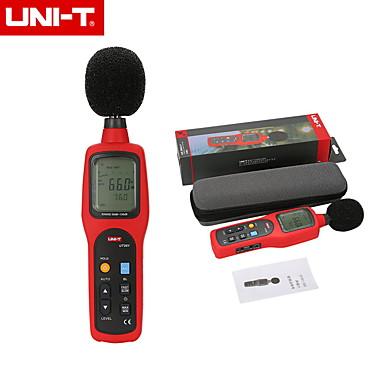 voordelige Test-, meet- & inspectieapparatuur-Uni-t originele ut351 digitale geluidsmeter db decibel meter noise tester 30-130db met lcd-achtergrondverlichting ac / dc output