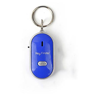 voordelige Auto-interieur accessoires-mini-fluitje anti verloren key finder draadloze slimme knipperende beeping afstandsbediening verloren keyfinder locator met led zaklamp