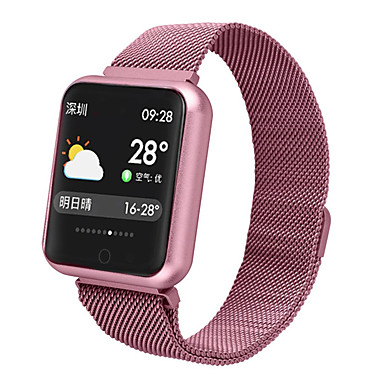 billige Smarture-p68 smart watch bt fitness tracker support underrette & puls monitor monitor kompatible apple / samsung / android telefoner