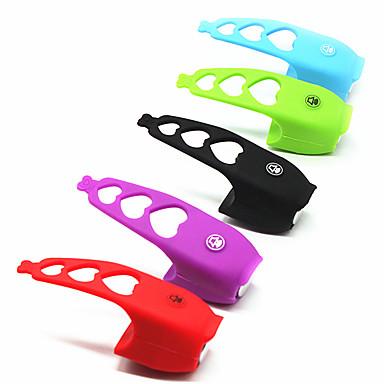 abordables Accessoires de Vélo-LITBest Klaxon de Vélo Facile à Installer pour Vélo de Route Vélo tout terrain / VTT Vélo à Pignon Fixe Cyclisme Le gel de silice Noir Vert Violet 1 pcs