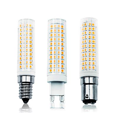 billige Elpærer-loende 5 pakke 11w dimming ledet kornlys 110-130v 200-240v 750lm e14 g9 ba15d 136 lyder led lampe smd2835 hvit / varm hvit