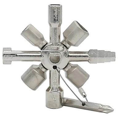 Недорогие Другие ручные инструменты-многофункциональные универсальные крестообразные ключи 10 в 1 треугольник для газовых инструментов