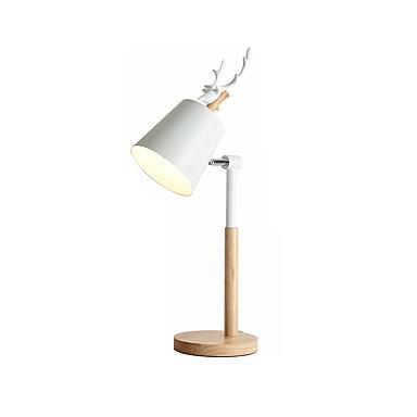 милый рога дизайн настольный светильник современный современный новый дизайн настольная лампа для кабинета / офиса / гостиной дерева