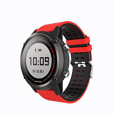 Xiaomi Gudon s1 Erkekler kadınlar Akıllı İzle Android iOS Bluetooth GPS Kalp Ritmi Monitörü Sporlar Yakılan Kaloriler Uzun Bekleme EKG + PPG Kronometre Pedometre Arama Hatırlatıcı Aktivite Takipçisi