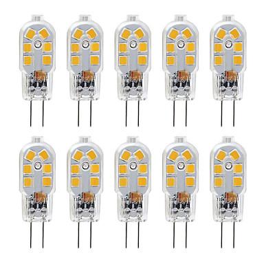 billige Elpærer-zdm g4 2,5w led pære 10 pakning led bi-pin g4 base 20w halogenpære erstatning varm hvit / kald hvit dc12v