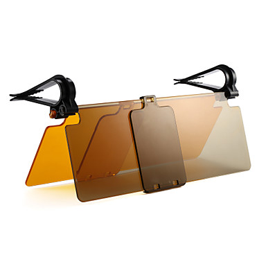 voordelige Auto-zonneschermen & zonnekleppen-auto veiligheid rijden zonneklep cover anti-verblinding auto vizier dag / nacht visie rijden spiegel