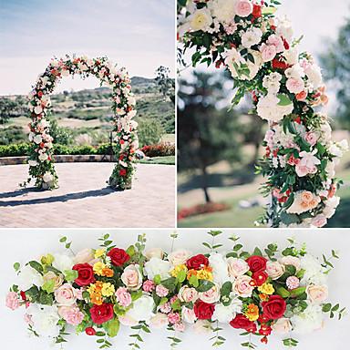 halpa Tekokukat-Keinotekoinen Flowers 1 haara Moderni tyyli Häät Ruusut Kasvit Pöytäkukka