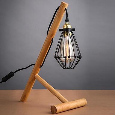Taiteellinen / Moderni nykyaikainen Uusi malli Pöytälamppu Käyttötarkoitus Makuuhuone / Sisällä Puu / bambu 110V