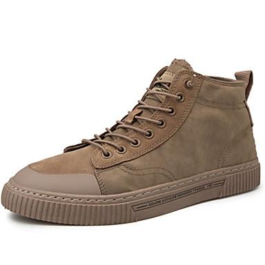 Erkek Ayakkabı Tüylü / Tissage Volant Bahar / Yaz Spor Ayakkabısı Günlük / Ofis ve Kariyer için Siyah / Beyaz / Sarı