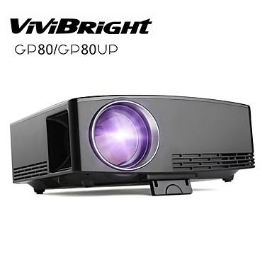 vipibright gp80 lcd מקרן הוביל 220 lm תמיכה 1080p (1920x1080) 28 ~ 180 אינץ '