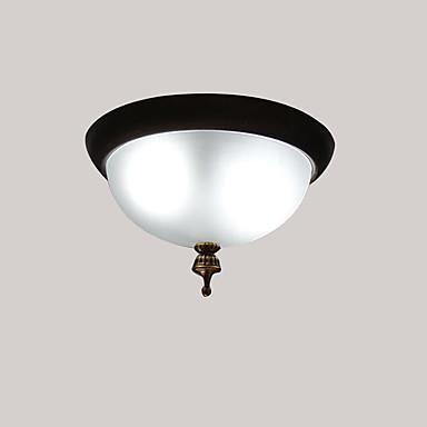 Koridor oturma odası gömme montaj ışıkları antik country tarzı kapalı ortam ışığı tavan ışık boyalı metal tavan lambaları bitiyor