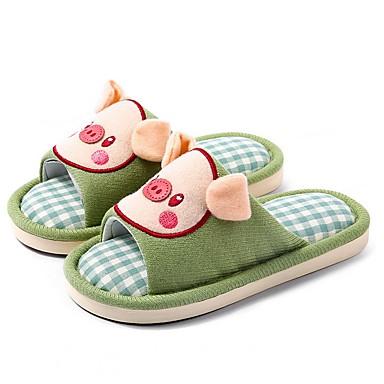 baratos Sapatos de Criança-Para Meninos Algodão Chinelos e flip-flops Criança (9m-4ys) Conforto Verde / Azul / Rosa claro Verão