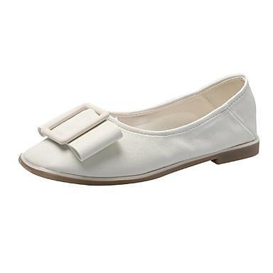 Kadın's Düz Ayakkabılar Düz Taban PU Günlük Yaz Yeşil / Sarı / Bej