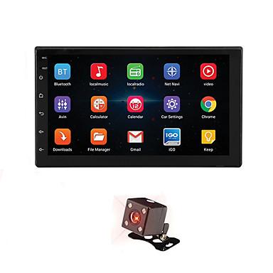 voordelige Automatisch Electronica-7 '' android 8.1 dubbele 2 din 16g quad core gps autoradio mp5 speler fm achteruitrijcamera